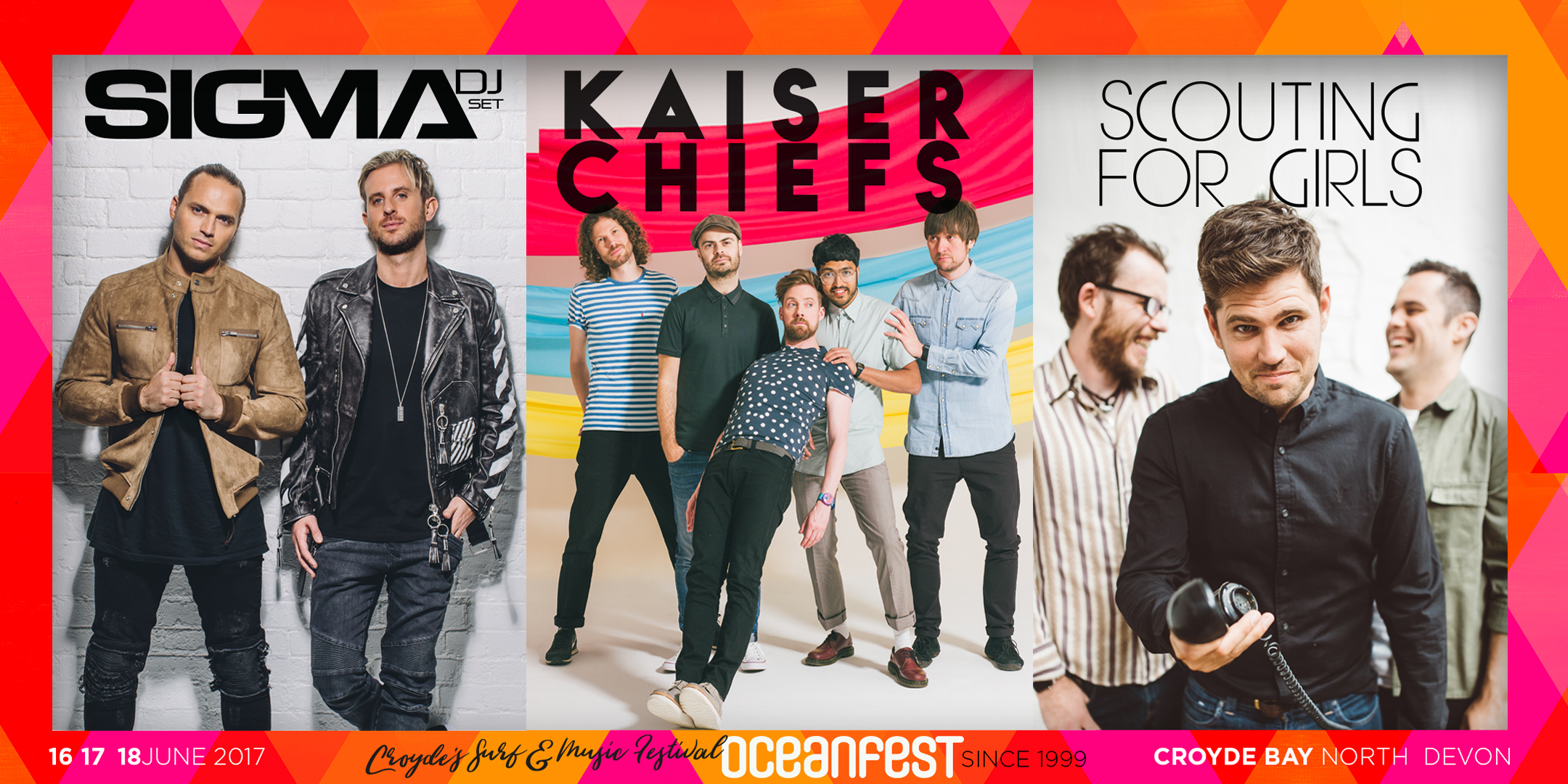Kaiser Chiefs, Sigma & Scouting for girls