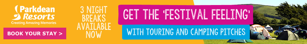Parkdean Resorts - Get the festival feeling with touring and camping pitches
