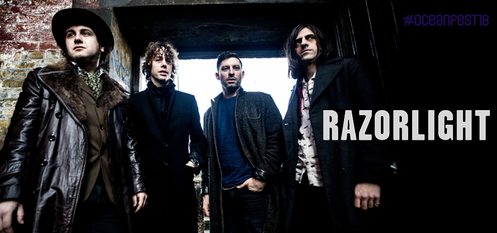 Razorlight  at Oceanfest18