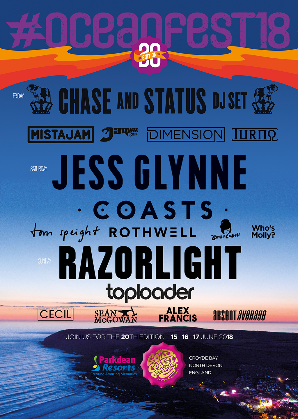 GoldCoast Oceanfest 2018 Official Poster